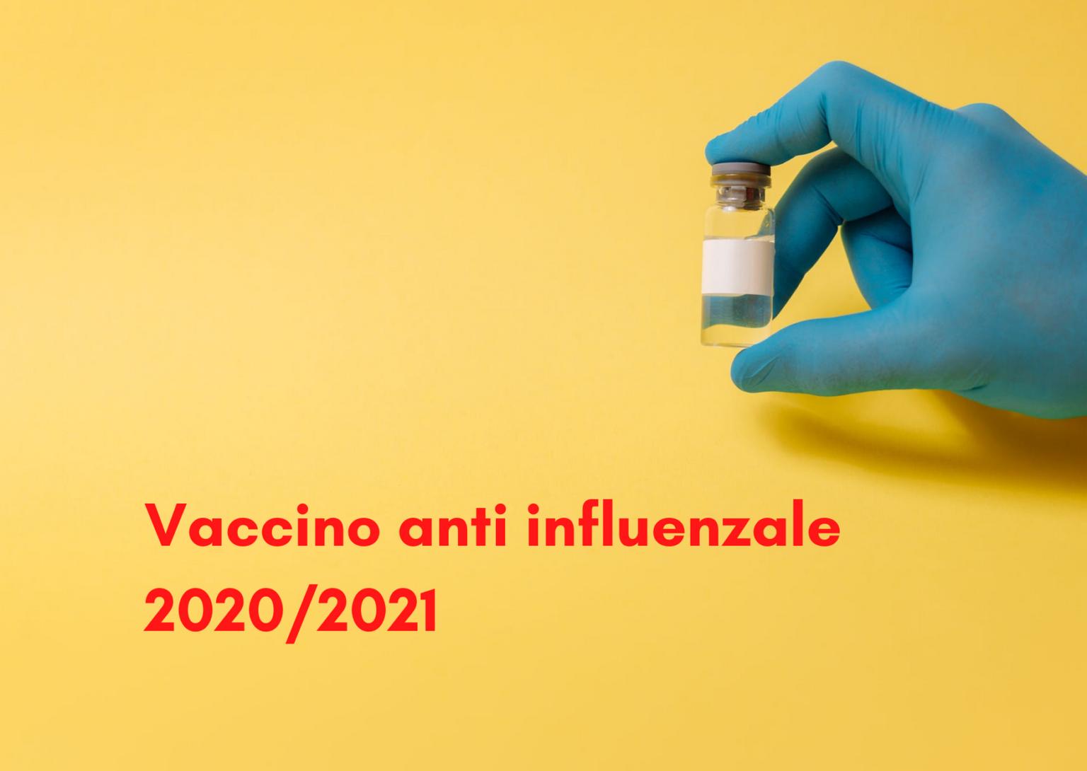 La vaccinazione anti influenzale stagione 2020/2021 ai Donatori di sangue