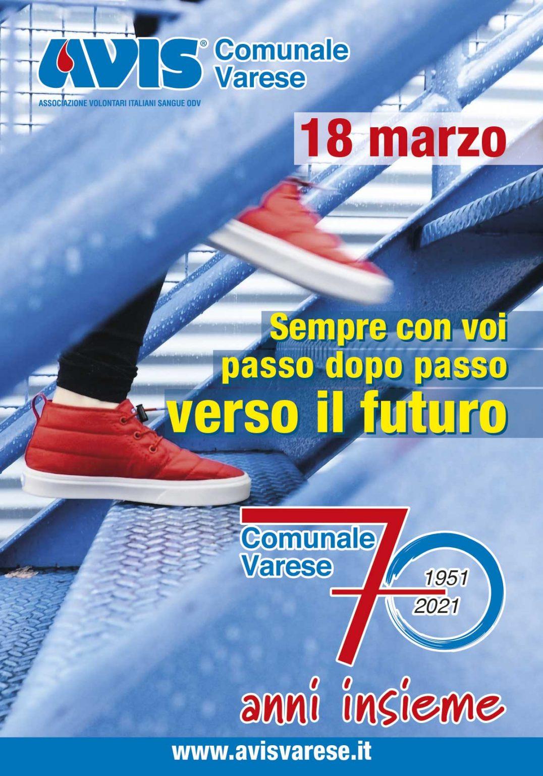 70 anni di storia avisina a Varese